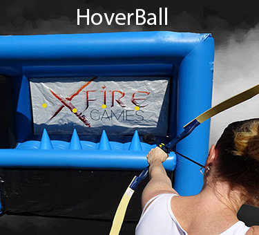 XFire Games - HoverBall event-hire